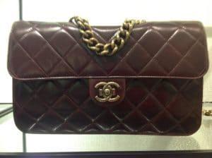 Chanel Burgundy Perfect Edge Large Bag