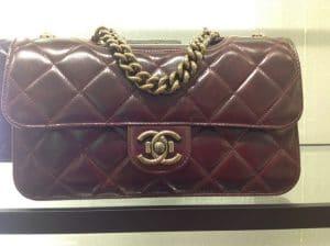 Chanel Burgundy Perfect Edge Small Bag