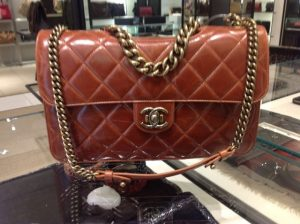 Chanel Camel Perfect Edge Large Bag