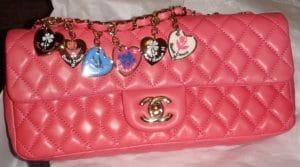Chanel Coral Valentine E/W Flap Bag 2009