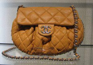 Chanel Dark Beige Chain Around Messenger Medium Bag 2010