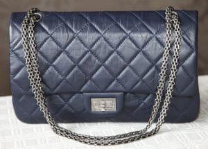Chanel Dark Blue Reissue Flap 226 Bag 2012