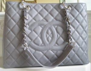 Chanel Dark Grey GST Bag 2008