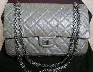 Chanel Dark Grey Reissue Flap 226 Bag 2011
