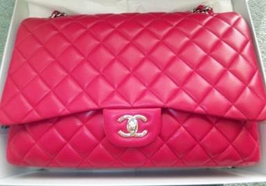 b0affb101bc7 Chanel Fuchsia Classic Flap Maxi Bag 2009