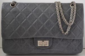 Chanel Grey Anniversary Reissue Flap 227 Bag 2005