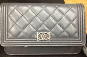 Chanel Grey Boy WOC Bag 2012