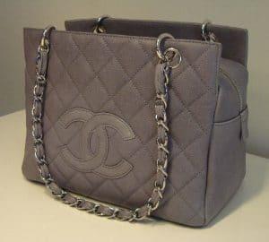 Chanel Grey PST Bag 2008