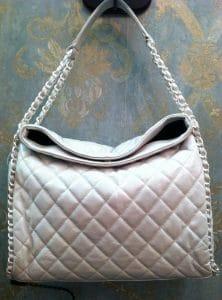 Chanel Light Grey Chain Me Tote Bag 2011