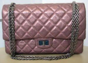 Chanel Metallic Dark Pink Reissue Flap 226 Bag 2008