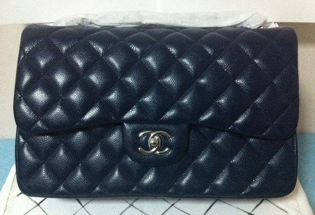 6cc4af8e631178 Chanel Blue Bag Reference Guide   Spotted Fashion