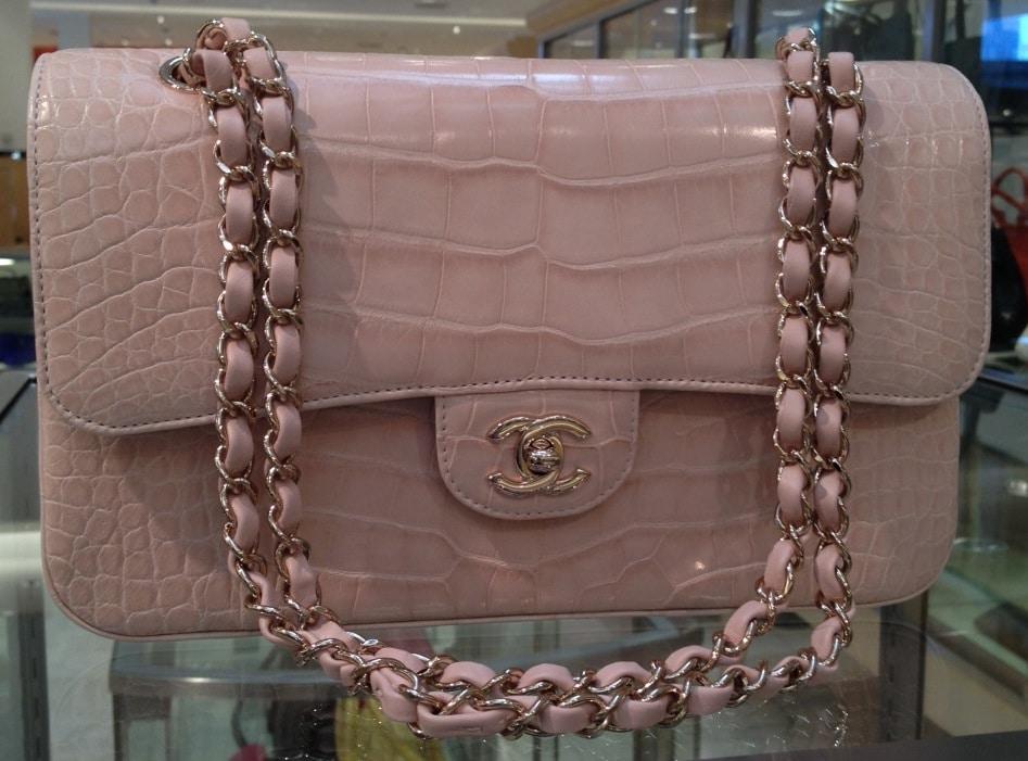 Купить женскую кожаную сумку шанель