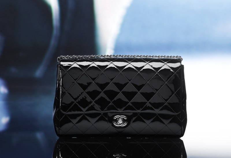 Chanel Patent New Clutch Bag