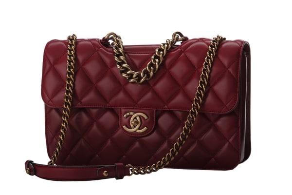 5d8e6595b18e Chanel Red Perfect Edge bag