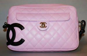 Chanel Pink Cambon Camera Bag 2005