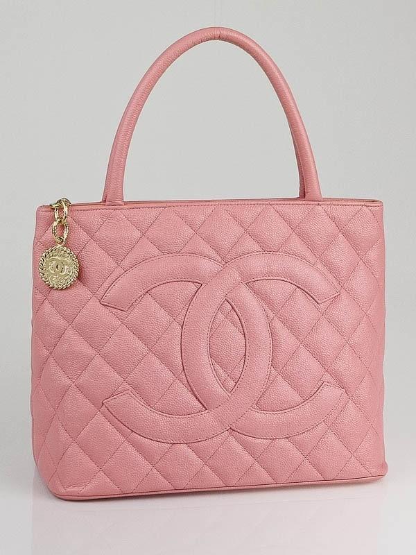 783bf67cd7ef Chanel Pink Satchel