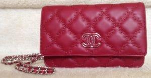 Chanel Red Hampton WOC Bag 2013
