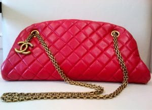 Chanel Red Mademoiselle Small Bag 2012