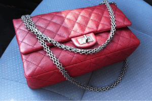 Chanel Red Reissue Flap 226 Bag 2010