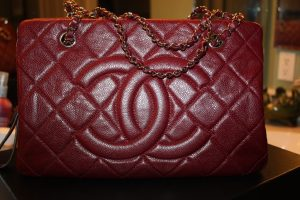 Chanel Red Timeless CC Tote Bag 2011