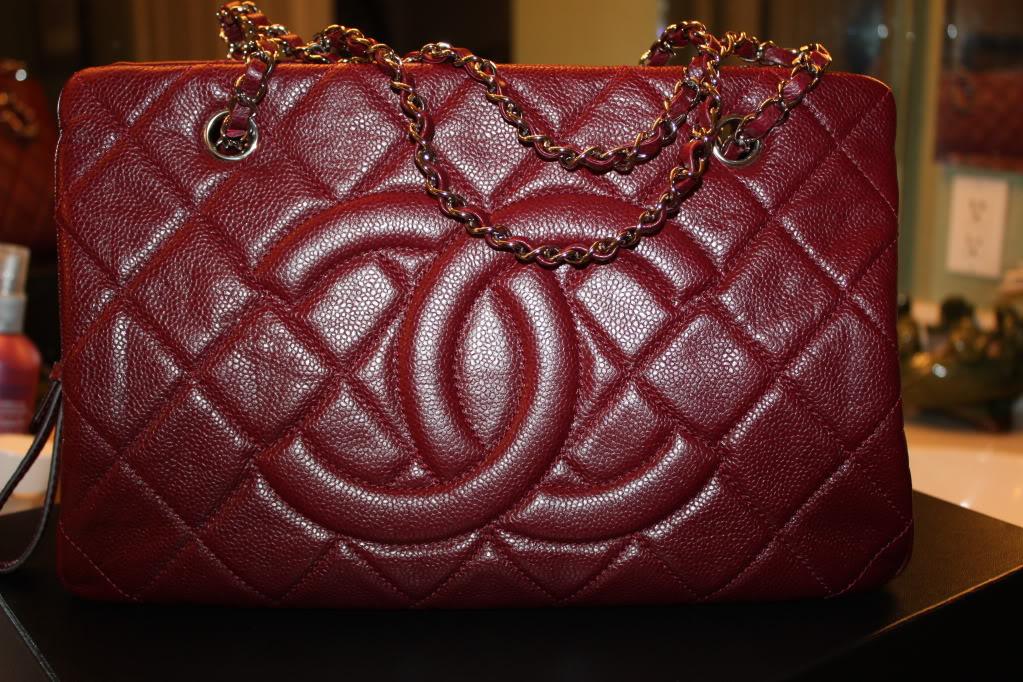 ec0b7aa5266e Chanel Red Timeless CC Tote Bag 2011