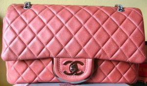 Chanel Rose Clair Icons Flap Bag 2008