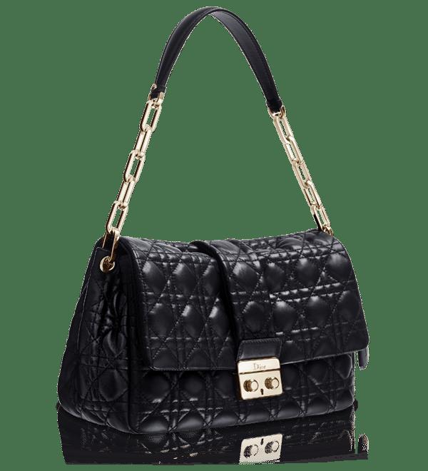 Dior Black New Lock Bag