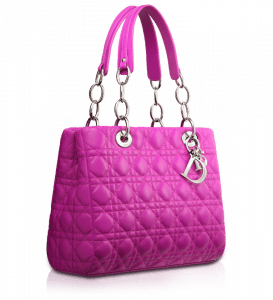 Dior Clover Pink Soft Shopping Tote Bag