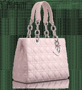 Dior Foulard Pink Soft Shopping Tote Bag