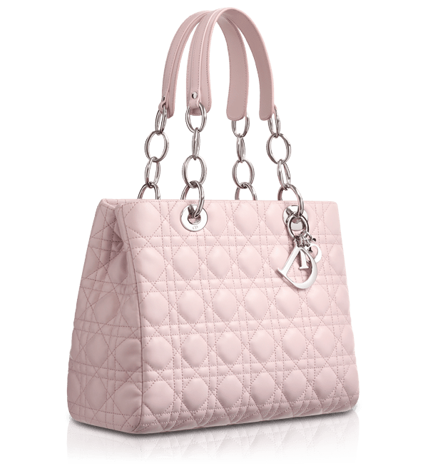 79519b9d400d Dior Foulard Pink Soft Shopping Tote Bag · Dior Beige Patent Soft Shopping  Tote Bag Large