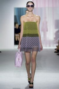 Dior top handle bag spring 2013 runway 6