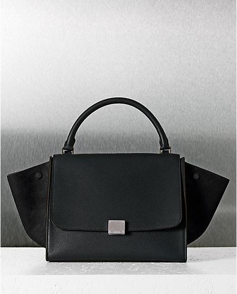 authentic celine bags online - celine black trapeze bag