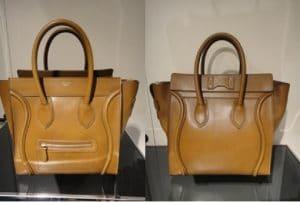Celine Brown Palmelato Mini Luggage Bag