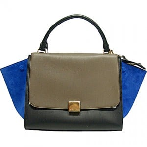 Celine-Trapeze-Bag-with-Blue-Suede-wings-and-Grey-Flap-300x300