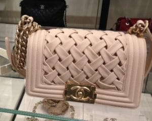Chanel Beige Chateau Boy Bag 2013
