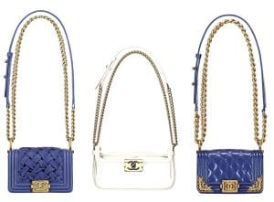 Chanel Blue Boy bag from cruise 2013 collection