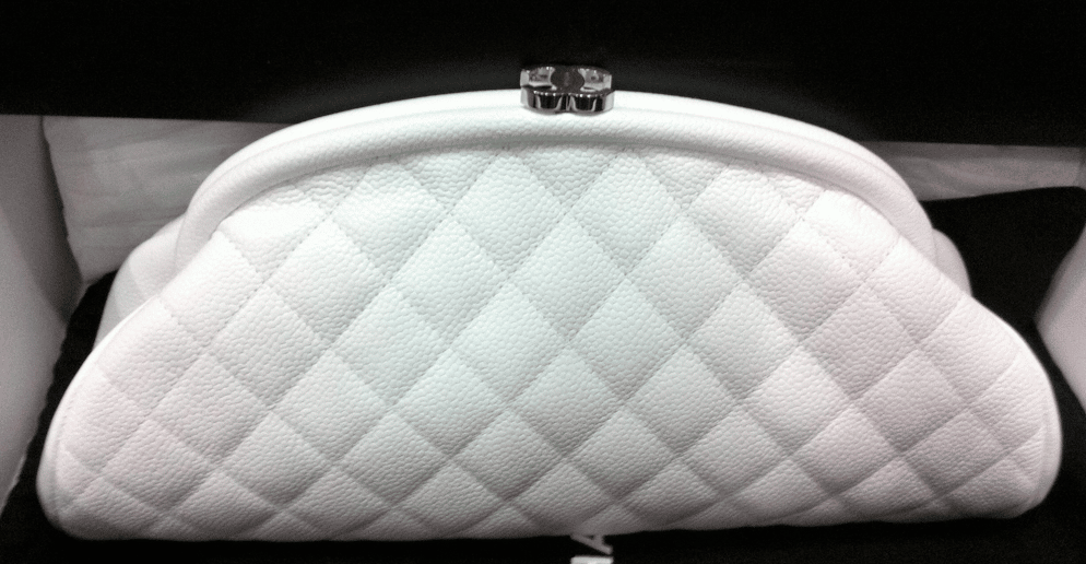 70df21503528 Chanel Timeless Clutch Bag Reference Guide   Spotted Fashion