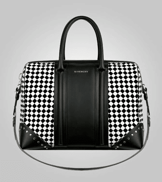Givenchy Black and White Lucrezia Large Bag – Spotted Fashion
