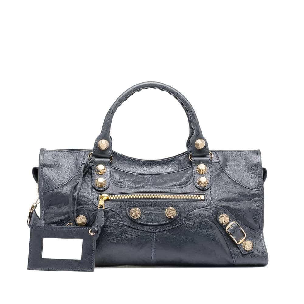 Balenciaga GGH 21 Black Part Time Bag – Spotted Fashion
