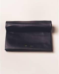 Celine Black Trio Soft Clutch Bag - Summer 2013