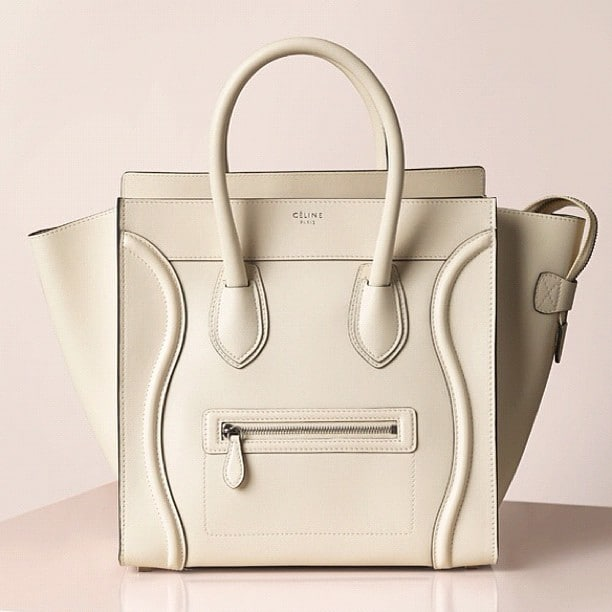 mini luggage celine price