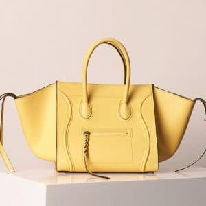 Celine Yellow Lemon Phantom Bag - Summer 2013