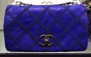 Chanel Blue Flap Bag 2013