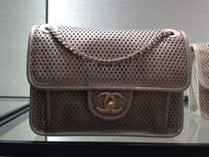 Chanel Metallic Grey Up In The Air Flap Bag 2013