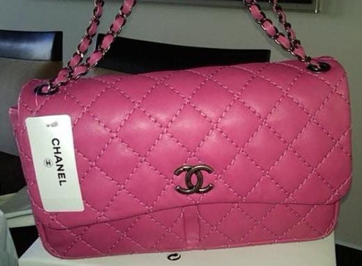Chanel Pink Sch It Bag 2017