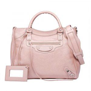 Balenciaga-Pink-Classic-Silver-Pearly-Velo-Bag.jpg