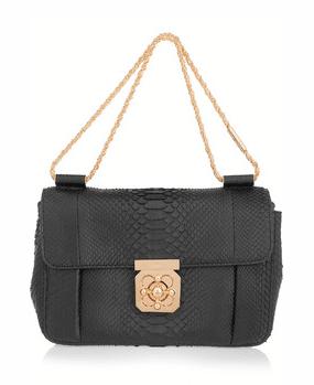 Chloe Elsie Shoulder Bag Black 29