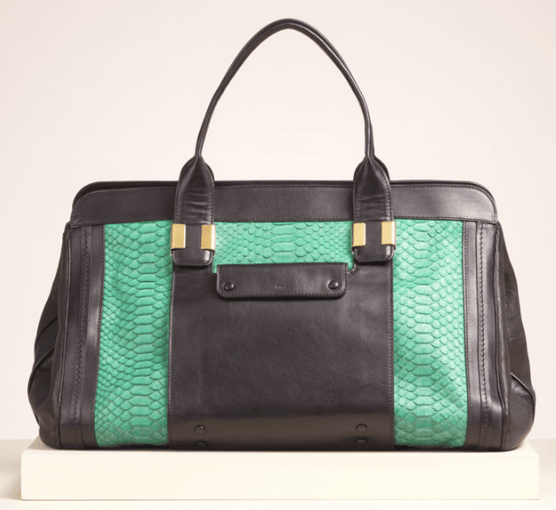 clhoe handbags - Chloe-Green-Python-Alice-Extra-Large-Bag.png