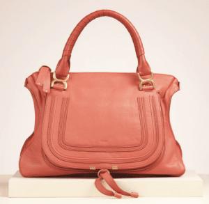 Chloe Paradise Pink Marcie Large Bag
