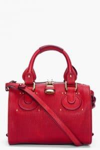 Chloe Red Paddington Duffle Bag - fall 2012